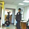 Киев: налет на банк едва не лишил чувств посетительниц