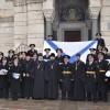 В Севастополе были освящены Андреевские флаги кораблей Черноморского флота