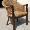 Плетеная мебель становится популярной в Украине