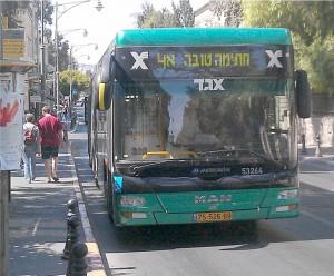 Транспорт Израиля: автобусы